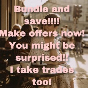 Handbags - The more you bundle, the more you'll save!!!